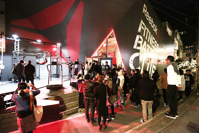 「Reebok FITNESS BATTLE CLUB」がオープン!